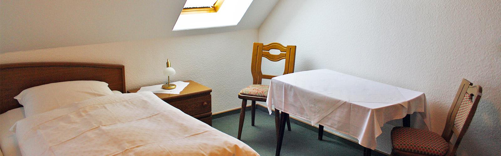 Zum alten Feld - Restaurant und Hotel - Die Zimmer